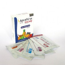 Apcalis SX Oral Jelly (cialis,tadafil) 7jelly/box