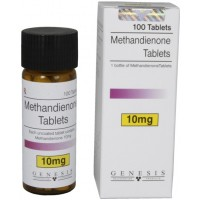 Genesis Methandienone 10mg*100 tablets