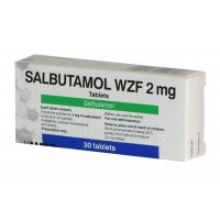 SALBUTAMOL 2 mg *30tablets