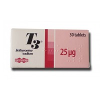 Greece UNI-PHARMA T3 30*25mcg