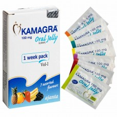 Kamagra Oral Jelly Ajanta Pharma  7Jelly/box