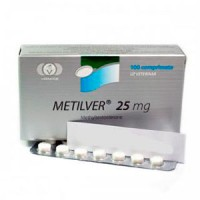 vermodje METILVER (Methyltestosterone) 25mg N100 Tabs